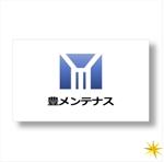 shyoさんの店舗のリフォーム、メンテナンス事業「豊メンテナンス株式会社」のロゴ作成への提案