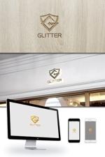 ldz530607さんの新規法人設立「GLITTER」のロゴへの提案