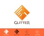 katsuya_1101さんの新規法人設立「GLITTER」のロゴへの提案