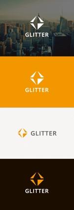 tanaka10さんの新規法人設立「GLITTER」のロゴへの提案