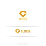 conii88さんの新規法人設立「GLITTER」のロゴへの提案