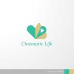 映像制作サービス「Cinematic Life」のロゴデザイン募集への提案