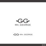 cc110さんの中年向けメンズアパレルECサイト「Mr. GEORGE/ミスタージョージ」のロゴへの提案