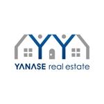 kazubonさんの「YANASE real estate」のロゴ作成への提案