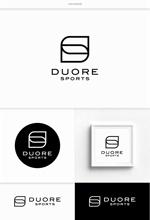 DeeDeeGraphicsさんのフィットネスクラブ「DUORE sports」のロゴ、フォントデザイン募集!への提案