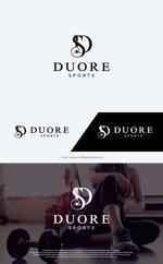 take5-designさんのフィットネスクラブ「DUORE sports」のロゴ、フォントデザイン募集!への提案