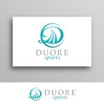 White-designさんのフィットネスクラブ「DUORE sports」のロゴ、フォントデザイン募集!への提案