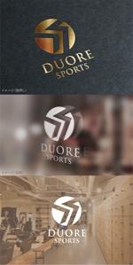 moguaiさんのフィットネスクラブ「DUORE sports」のロゴ、フォントデザイン募集!への提案
