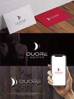 maharo77さんのフィットネスクラブ「DUORE sports」のロゴ、フォントデザイン募集!への提案