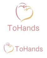 dd51さんの産業医派遣サービスToHandsのロゴへの提案