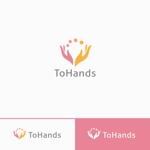 Doing1248さんの産業医派遣サービスToHandsのロゴへの提案