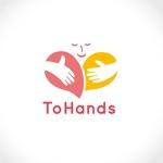 totonoe_designさんの産業医派遣サービスToHandsのロゴへの提案