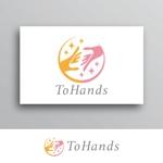 White-designさんの産業医派遣サービスToHandsのロゴへの提案