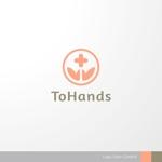 sa_akutsuさんの産業医派遣サービスToHandsのロゴへの提案