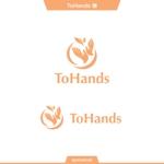 queuecatさんの産業医派遣サービスToHandsのロゴへの提案