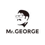 ronsunnさんの中年向けメンズアパレルECサイト「Mr. GEORGE/ミスタージョージ」のロゴへの提案