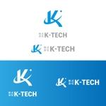 emdoさんの株式会社K-TECHシンボルマークロゴの依頼への提案