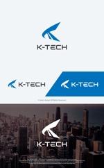 take5-designさんの株式会社K-TECHシンボルマークロゴの依頼への提案