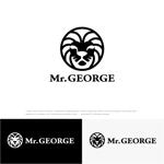 drkigawaさんの中年向けメンズアパレルECサイト「Mr. GEORGE/ミスタージョージ」のロゴへの提案
