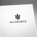 fujiseyooさんの中年向けメンズアパレルECサイト「Mr. GEORGE/ミスタージョージ」のロゴへの提案
