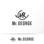 katachidesignさんの中年向けメンズアパレルECサイト「Mr. GEORGE/ミスタージョージ」のロゴへの提案
