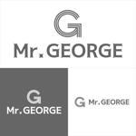 5d328f0b2ec5bさんの中年向けメンズアパレルECサイト「Mr. GEORGE/ミスタージョージ」のロゴへの提案