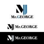 cvdesignさんの中年向けメンズアパレルECサイト「Mr. GEORGE/ミスタージョージ」のロゴへの提案