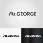 buzzrousさんの中年向けメンズアパレルECサイト「Mr. GEORGE/ミスタージョージ」のロゴへの提案