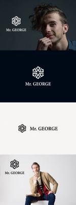 tanaka10さんの中年向けメンズアパレルECサイト「Mr. GEORGE/ミスタージョージ」のロゴへの提案
