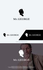take5-designさんの中年向けメンズアパレルECサイト「Mr. GEORGE/ミスタージョージ」のロゴへの提案