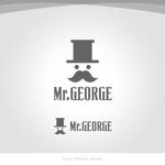 TakaJumpさんの中年向けメンズアパレルECサイト「Mr. GEORGE/ミスタージョージ」のロゴへの提案