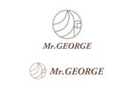 tanaka_358_eikiさんの中年向けメンズアパレルECサイト「Mr. GEORGE/ミスタージョージ」のロゴへの提案