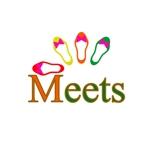 heeskeさんの女性らしい可愛い靴ブランド「Meets」のロゴ制作への提案