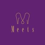 blue_enter2さんの女性らしい可愛い靴ブランド「Meets」のロゴ制作への提案