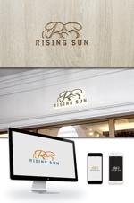 ldz530607さんの芸能・エンターテイメント事業/RISING SUNのロゴ制作(商標登録予定なし)への提案