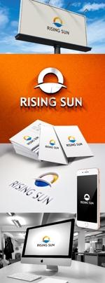 katsu31さんの芸能・エンターテイメント事業/RISING SUNのロゴ制作(商標登録予定なし)への提案