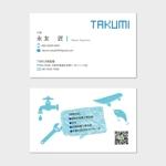 hautuさんの水道設備屋の名刺への提案