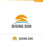 fs8156さんの芸能・エンターテイメント事業/RISING SUNのロゴ制作(商標登録予定なし)への提案