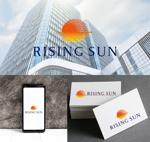 kcd001さんの芸能・エンターテイメント事業/RISING SUNのロゴ制作(商標登録予定なし)への提案