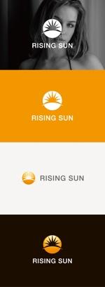 tanaka10さんの芸能・エンターテイメント事業/RISING SUNのロゴ制作(商標登録予定なし)への提案