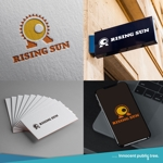 nekosuさんの芸能・エンターテイメント事業/RISING SUNのロゴ制作(商標登録予定なし)への提案