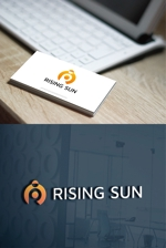 hi06さんの芸能・エンターテイメント事業/RISING SUNのロゴ制作(商標登録予定なし)への提案