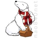 アウトドア企業「Hug Bear」のキャラターデザインへの提案