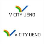 5d328f0b2ec5bさんの商業ビルの名称:「V  CITY UENO」(ヴィ シティ ウエノ)のロゴ&マーク への提案