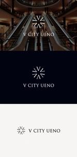 tanaka10さんの商業ビルの名称:「V  CITY UENO」(ヴィ シティ ウエノ)のロゴ&マーク への提案