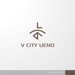 sa_akutsuさんの商業ビルの名称:「V  CITY UENO」(ヴィ シティ ウエノ)のロゴ&マーク への提案