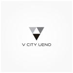 siftさんの商業ビルの名称:「V  CITY UENO」(ヴィ シティ ウエノ)のロゴ&マーク への提案