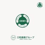 養鶏・食品加工系の会社「三和食鶏グループ」のロゴ制作(商標登録予定なし)への提案