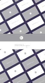 Tonica01さんのアクセサリーブランド 「PERTIKA mignon」の ロゴへの提案