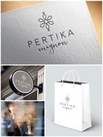 m_mtbooksさんのアクセサリーブランド 「PERTIKA mignon」の ロゴへの提案